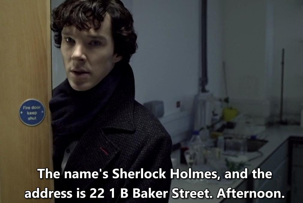 (Українська) Англійська і серіали, що стали класикою: Sherlock