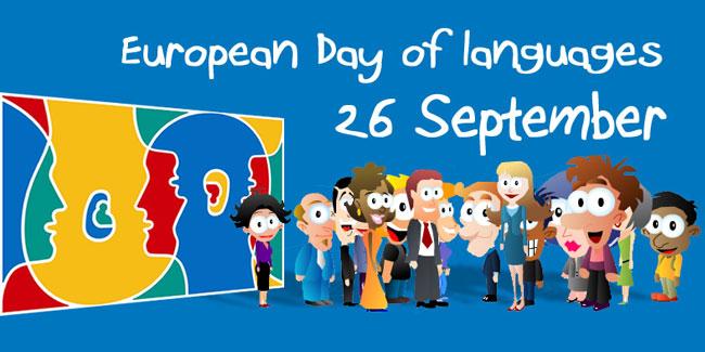 26 вересня – Європейський день мов